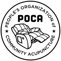 The People's Organization of Community Acupuncture Logo